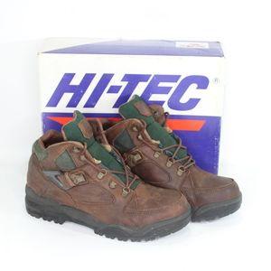 Vtg new Hi Tec Mens 10 Aspen Hiking Boots Leather